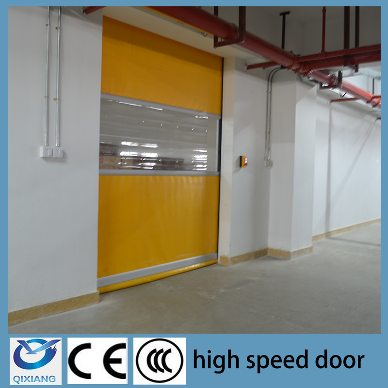 Roll up garage door opener/high speed roll up door
