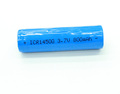 3.7v 800mah rechargeable 14500 li-ion battery with flat top