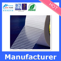 Mesh polyester fiber tape,waterproof fiberglass adhesive tape clear for glass