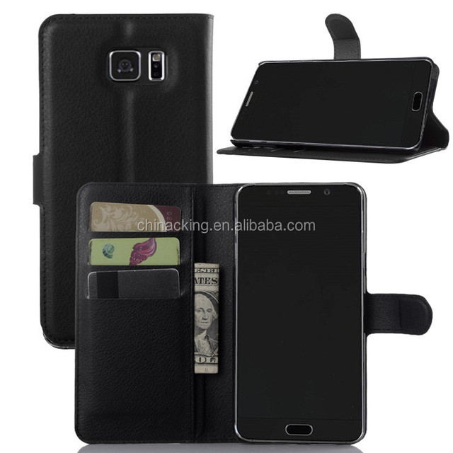 Flip Wallet Leather Cover Case For Samsung galaxy NOTE 5 Case