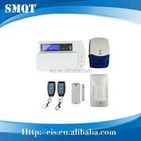 Remote control home use wireless gsm alarm instruction