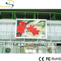 P6 Outdoor Fixed Large Screen Full Color Video LED Screens Curtain