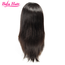 Hot ! 100% unprocessed virgin brazilian human hair 20inch color silky straight two tone u part wig soft and smooth