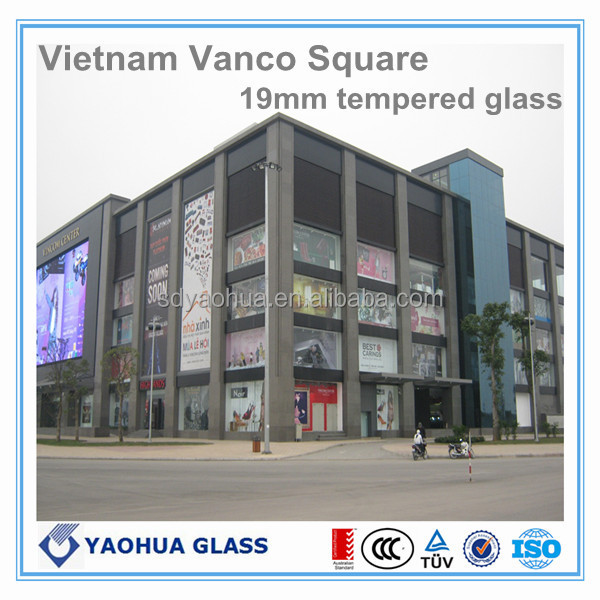 color lamianted glass sheet with EN SAI CCC ISO9001