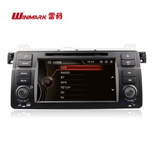 "7"" one din digital touch screen special car radio for BMW 3 series E46 DJ7062 with original UI"