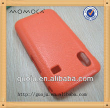 rubberized coating phone case for samsung s5830