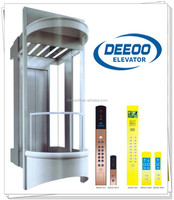 competitive price safe auto glass panoramic elevator lift DEEOO outdoor sightseeing elevator