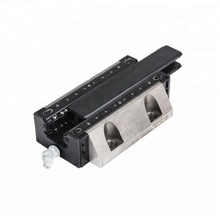 Wear resistance conveyor slide guide cnc machined black linear guide rail