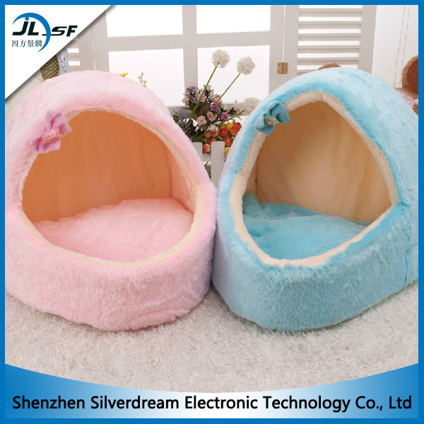 Korean Winter Indoor Warm Cat House Pet House Dog House with Cushion