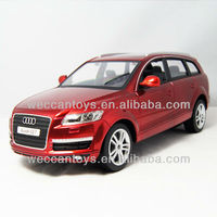 iOS & Android smart devices controlled toys. Licensed RC Audi Q7 controlled via bluetooth