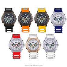 Analog Digital Watch AD-024, Factory Since 2002, OEM/ODM Welcome,