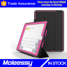 9.7 inch tablet TPU+PC+Leather case for iPad Air 2/iPad 6 16gb/64gb fancy business stylish China supplier