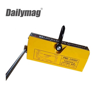 Heavy Duty Permanent Magnetic Plate Lifter Lifting Magnet