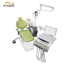 Korea types dental bed CQ dental chair with tissue box