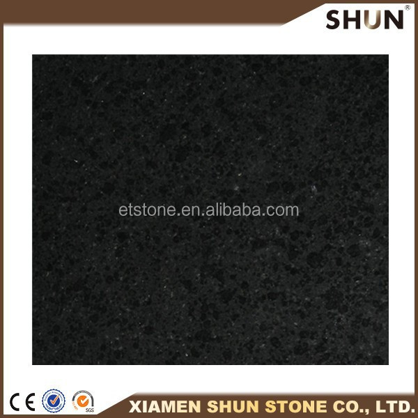 wholesale well polished high quality in absolute black granite slabs price