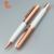manufacture wholesales popular heavy luxury rose gold metal ballpoint pen