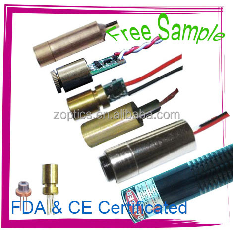 Free Samples, Factory Offer Green Laser Module, FDA, CE Certificated