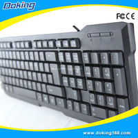 2016 manufacturer USB interface type laptop keyboard