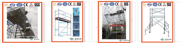 demountable metal structure bleacher frame scaffolding with CE&ISO