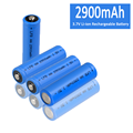 Hot Selling 2900mAh 1.5V Li-ion Rechargeable Battery