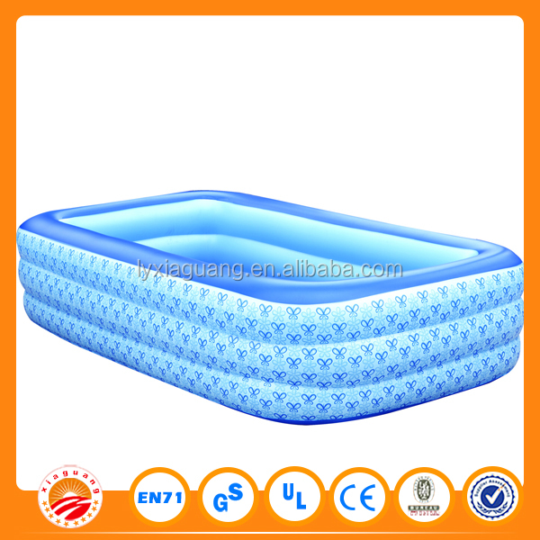 0.9 mm PVC inflatable adult swimming pool toy