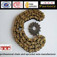 high tensile motorcycle roller chain for 428H from Chinses supplier Superlier