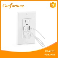 4.2a High Speed Dual USB Port Wall Socket Charger AC Power Receptacle Outlet