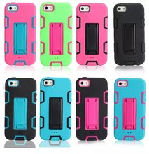 New Product Cell Phone Accessories Wholesale Cheap Armor Case for Apple iphone 5 5s
