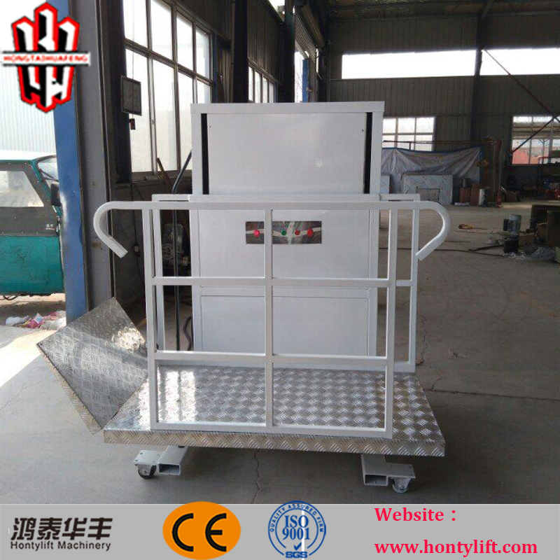 Hydraulic Wheelchair Lift : M ce hydraulic vertical wheelchair lifts with four