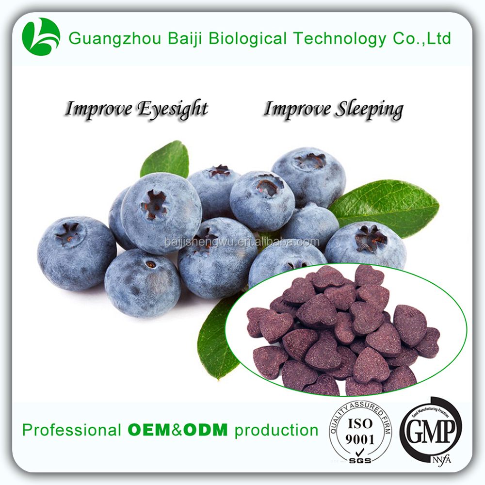 OEM Health Food Products Fat Burner Pills Blueberry Tablets