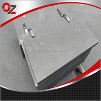 Good electric conductivity graphite plate with low power implementations
