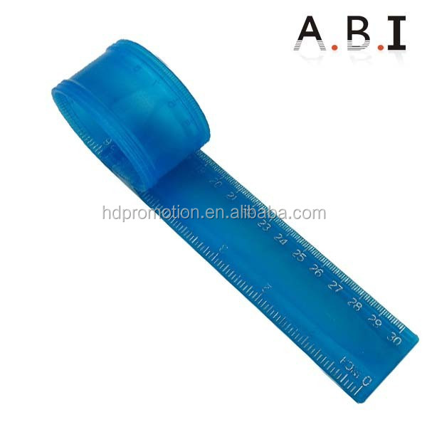 All kinds of colorful practical plastic scale flexible ruler