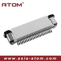 FPC connector, pitch 0.5mm pitch right angle upper contact SMT type