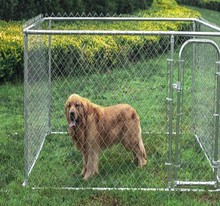 wholesale outdoor large chain link dog cage / dog kennel cage / Wholesale Galvanized outdoor kennels for large dogs