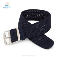 High Quality Navy Blue Custom Perlon Watch Strap