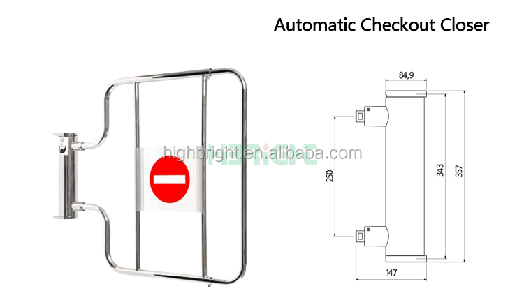 Automatic swing gate motor opener,double swing gate opener,access control system turnstile