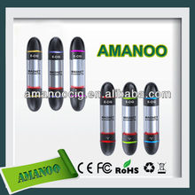 Popular Salable product with unique ego w electronic cigarette Amanoo wholesale ego t with user manual