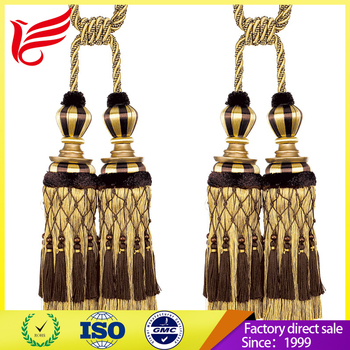 Our Factory Wholesale all kinds of material tassel tieback
