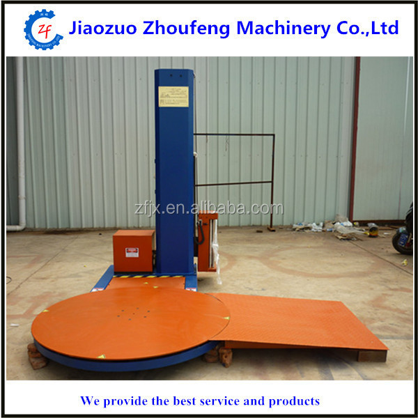 special price pallet wrapping machine stretch wrapping film pallet packing machine