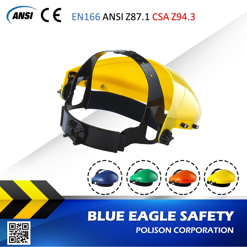 Blue Eagle Safety Supplies B1YE ABS faceshield browguard
