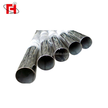 ASTM AISI DIN EN GB SUS SS INOX 304 polished seamless stainless steel pipe price per meter