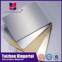 Alucoworld fr a2 aluminium composite panel for airport decoration