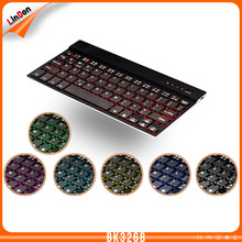 Universal Backlit Bluetooth 3.0 Keyboard for Apple iOS Windows OS and Android 4.0 or above