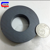 Customized strong ferrite ring magnet for motor