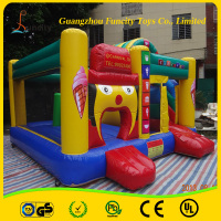 Hot sale inflatable bouncy castle combo/bouncy castles/inflatable combo bounce house