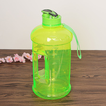 2 liter plastic drinking water bottle with handle