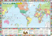 easy read educational world map item