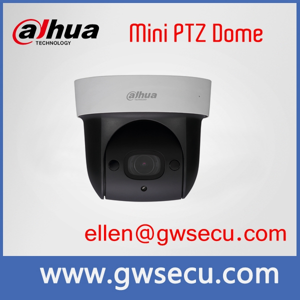 Dahua PTZ SD29204S-GN-W 4x zoom mini speed dome Wifi Wireless PTZ IP camera