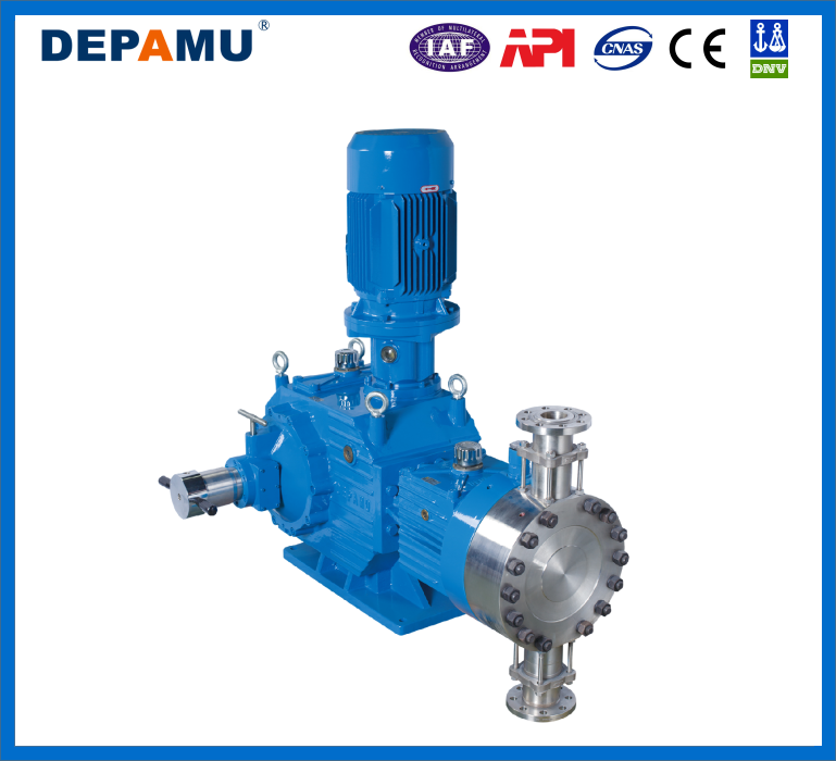 Toxic Chemical Liquid Metering Pump With SS304 Pump Head