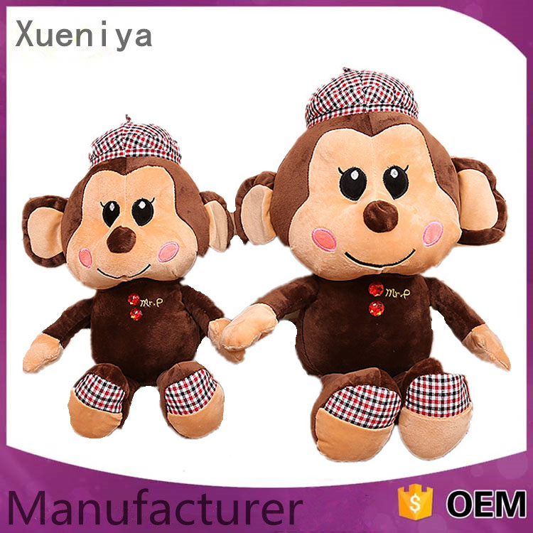 Best Stuffed Kids Monkey Toys Custom Plush Doll Manufacturer China